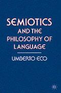 Semiotics & The Philosophy Of Language