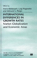 International Differences in Growth Rates: Market Globalization and Economic Areas
