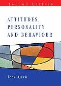 Attitudes Personality & Behaviour