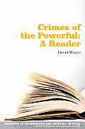 Crimes of the Powerful A Reader