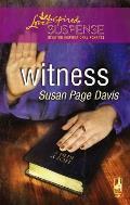 Witness (Love Inspired Suspense)