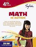 Fourth Grade Math in Action (Sylvan Workbooks) (Math Workbooks)