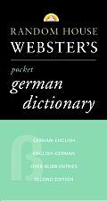 Random House Websters Pocket German Dictionary