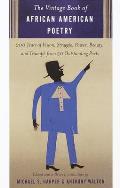 Vintage Book Of African American Poetry