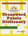 Random House Websters Crossword Puzzle D