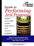 Guide To Performing Arts Programs Profiles Of