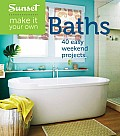 Sunset Make It Your Own Bathrooms 50 Easy Weekend Projects