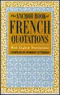 Anchor Book Of French Quotations