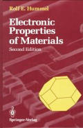 Electronic Properties of Materials: An Introduction Engineers