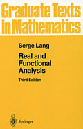 Real & Functional Analysis 3rd Edition