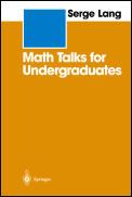 Math Talks For Undergraduates
