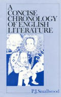 A Concise Chronology of English Literature