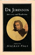 Dr. Johnson: Interviews and Recollections