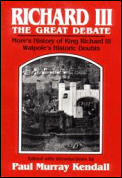 Richard III The Great Debate Mores Histo