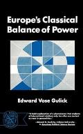 Europes Classical Balance Of Power