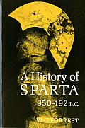 History Of Sparta 950 192 Bc