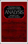 Analysis Norton Grove Handbooks In Music