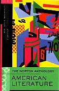 Norton Anthology of American Literature Volume E 7th edition