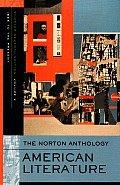 Norton Anthology American Literature Volume 2 1865 to the Present