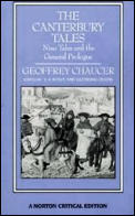 Canterbury Tales Nine Tales & The Genera