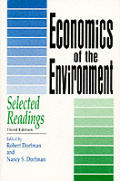 Economics Of The Environment 3rd Edition