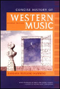 Concise History of Western Music - Text Only (2ND 02 - Old Edition)
