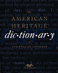 American Heritage Dictionary 3rd Edition