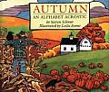 Autumn An Alphabet Acrostic