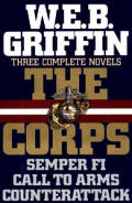 Corps Three Complete Novels Semper Fi Call To Arms Counterattack