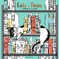 Cats in Paris A Magical Coloring Book