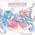 Pop Manga Mermaids & Other Sea Creatures A Coloring Book