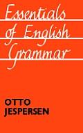 Essentials of English Grammar: 25th impression, 1987