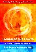 Language & Power A Resource Book For Students