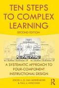 Ten Steps To Complex Learning A Systematic Approach To Four Component Instructional Design