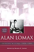 Alan Lomax Selected Writings 1934 1997