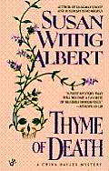 Thyme Of Death: A China Bayles Mystery: China Bayles 1