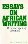Essays On African Writing 2 Contemporary