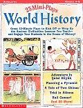 25 Mini Plays World History