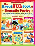 Great Big Book Of Thematic Poetry Prek K