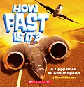 How Fast Is It A Zippy Book All about Speed