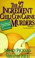 27 Ingredient Chili Con Carne Murders A Eugenia Potter Mystery