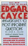 Edgar Cayce Answers Lifes 10 Most Import