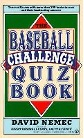 Baseball Challenge Quiz Book