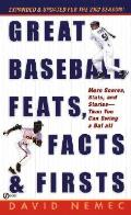 Great Baseball Feats Facts & Firsts 2002