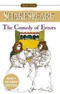 Comedy Of Errors Signet Classic