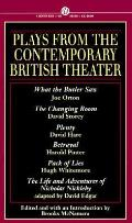 Plays From The Contemporary British Theater