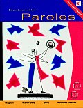 Paroles: Introductory French with CDROM