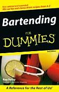 Bartending for Dummies 3rd Edition