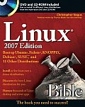 Linux Bible: Boot Up to Ubuntu, Fedora, KNOPPIX, Debian, SUSE, and 11 Other Distributions with DVD (Bible)