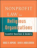 Nonprofit Law for Religious Organizations: Essential Questions & Answers